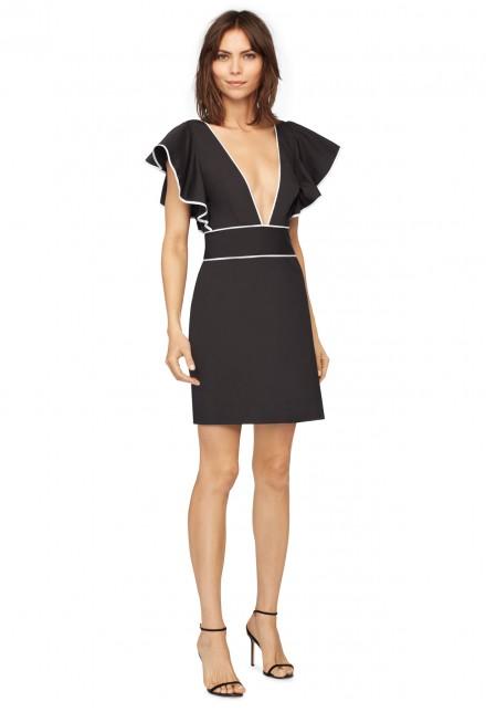 Sameness black and white dresses
