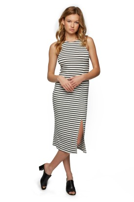Quimby_Dress_Print_Black_White_Stripe_F